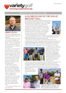 Variety Golf Newsletter - 24 July 2020